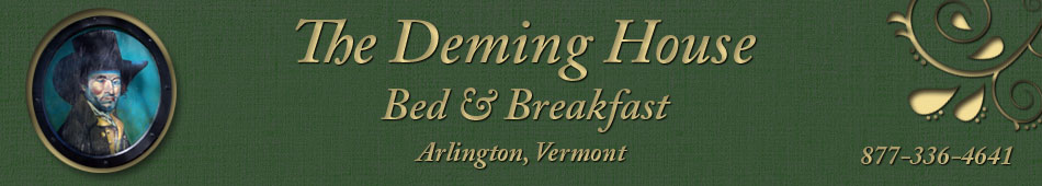 Deming House Bed and Breakfast Arlington Vermont